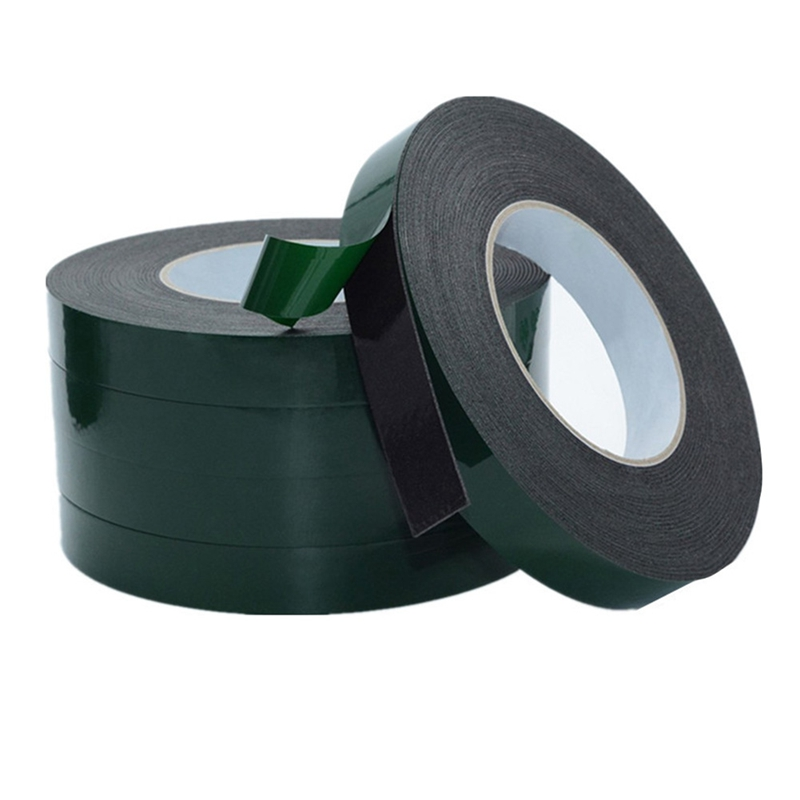 10m Double Sided Tape Strong Adhesive Black Foam Tape For Cell Phone Repair Gasket Screen Dust Proof (1mm Thick)