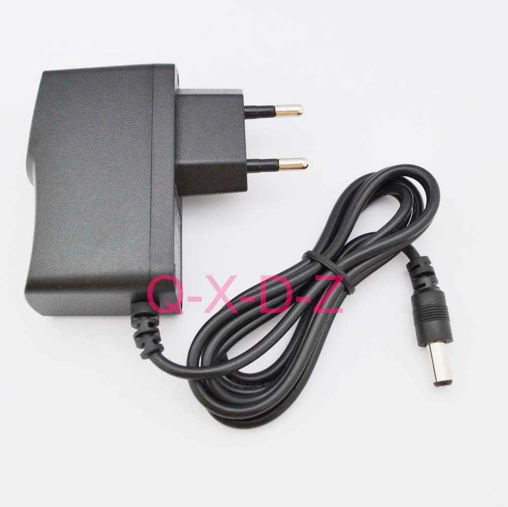 UE AC/DC 5V 1A 200mA 300mA 400mA 500mA 600mA 700mA 800mA 900mA 1000mA 1.5A 2A alimentation à découpage adaptateur 5.5mm x 2.1mm