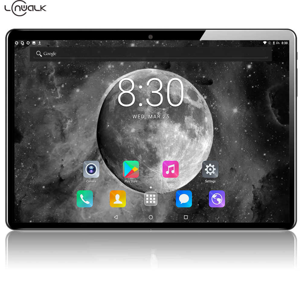 Lonwalk 10 Zoll Tablet 3GB RAM 64GB ROM Lagerung Octa Core 10,1 IPS 1920*1200 HD Display micro Android Tabletten 4G LTE 8,0 Kamera