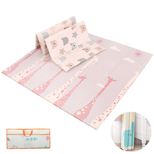 Thick Baby Carpet Foldable Baby Play Mat Waterproof Infant Crawling Pad Cartoon Double-sided Soft Kids Rug Educational Games