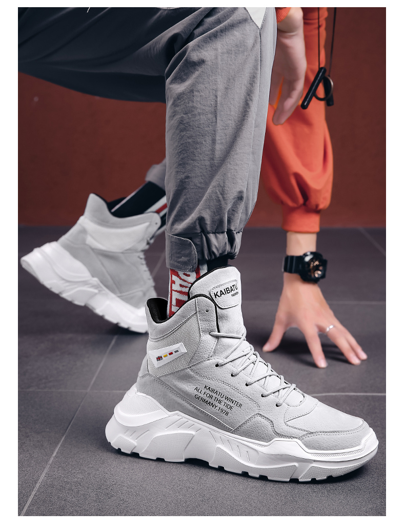 2019 Mens Shoes Casual Slip On Breathable Hot Sale Air Cushion Keep warm Sneakers Men Shoes Spring Shoes Outdoor Flats Shoes 44