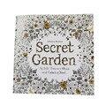 (1 = 24 страницы) английские обои секретный сад Английская версия для детей для взрослых простое давление цветок Время Живопись книги