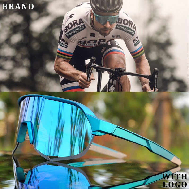 Brand Outdoor Sports Cycling Glasses S2 S3 Men Cycling Goggles Mountain Bike Cycling Eyewear UV400 Peter Riding Sunglasses