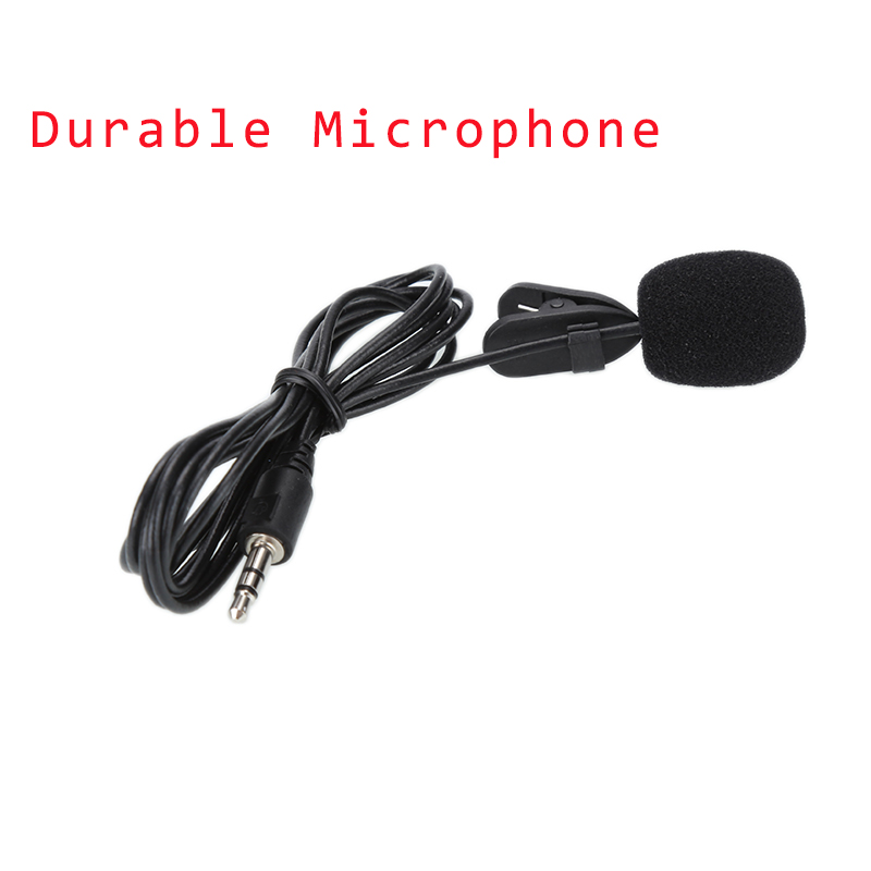 2019 Newly Mini Lavalier Mic 3.5mm Jack Tie Clip Microphones Smart Phone Recording PC Clip-on Lapel For Speaking Singing Speech