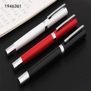Luksusowa jakość Y01 czarny czerwony biały biznes biuro pióro kulkowe uczeń artykuły biurowe kulkowe długopisy tanie i dobre opinie you ping 138mm Black 0 5mm