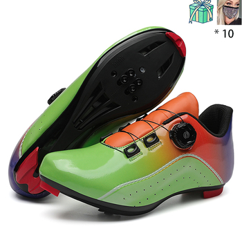 New Style Speed Shoes Men MTB Outdoor Sports Bicycle Shoes Self-locking Road Bike Shoes Professional Racing Bicycle Sneaker 18