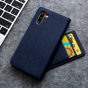 Image 4 - Hidden Rotation Cards Holder Wallet Case For Samsung S20 Ultra Note 10 + 8 9 S8 S9 S10 Plus S7 Edge Flip Leather Phone Case Capa