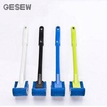 GESEW щетка для унитаза пластиковая длинная ручка нейлоновое волокно Туалетная жесткий очищающий щетка супер очищающий силовой наборы аксессуаров для ванной комнаты