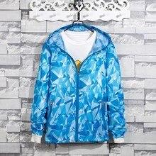 Plus Size Women Print Jacket Pattern Female Hooded Long Sleeve Coat Windbreaker Women Jackets Outwear цена