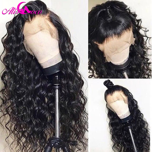 Image 4 - Brazilian Deep Curly Human Hair Wig 13x6 Lace Front Human Hair Wig 150% Density For Black Women Pre Plucked Remy Hair Lace Wigs