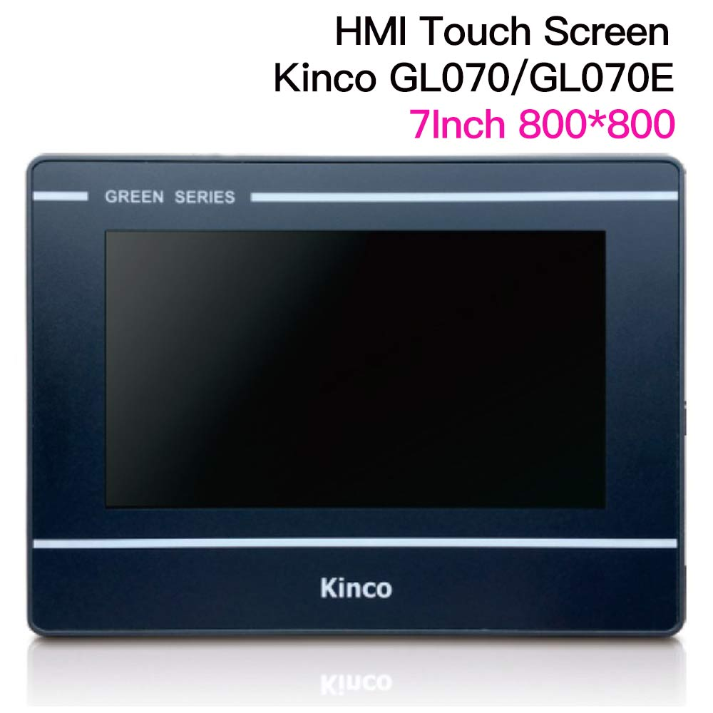 7'' Inch Kinco GL070 GL070E HMI Touch Screen  800*480 Ethernet Port Human Machine Interface Touch Panel RS232 RS422 RS485 Interf