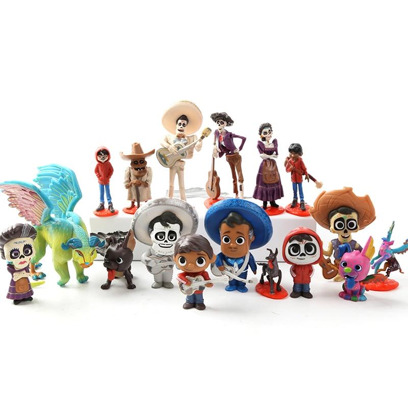 Film Coco Pixar Miguel Riveras collectionneurs Miguel/Ernesto De La Cruz Hector figurine d'action jouets enfant cadeau d'anniversaire
