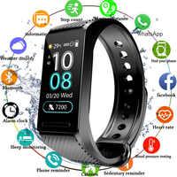 Smart Fitness Bracelet Blood Pressure Measurement Smart Band Waterproof IP67 Fitness Tracker Watch Heart Rate Monitor Men Women