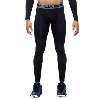 Ανδρικό αθλητικό κολάν ελαστικό με σύσφιξη σε άριστη ποιότητα μαύρο και γκρι Αθλητικά και Δραστηριότητες Κολάν Χόμπι MSOW