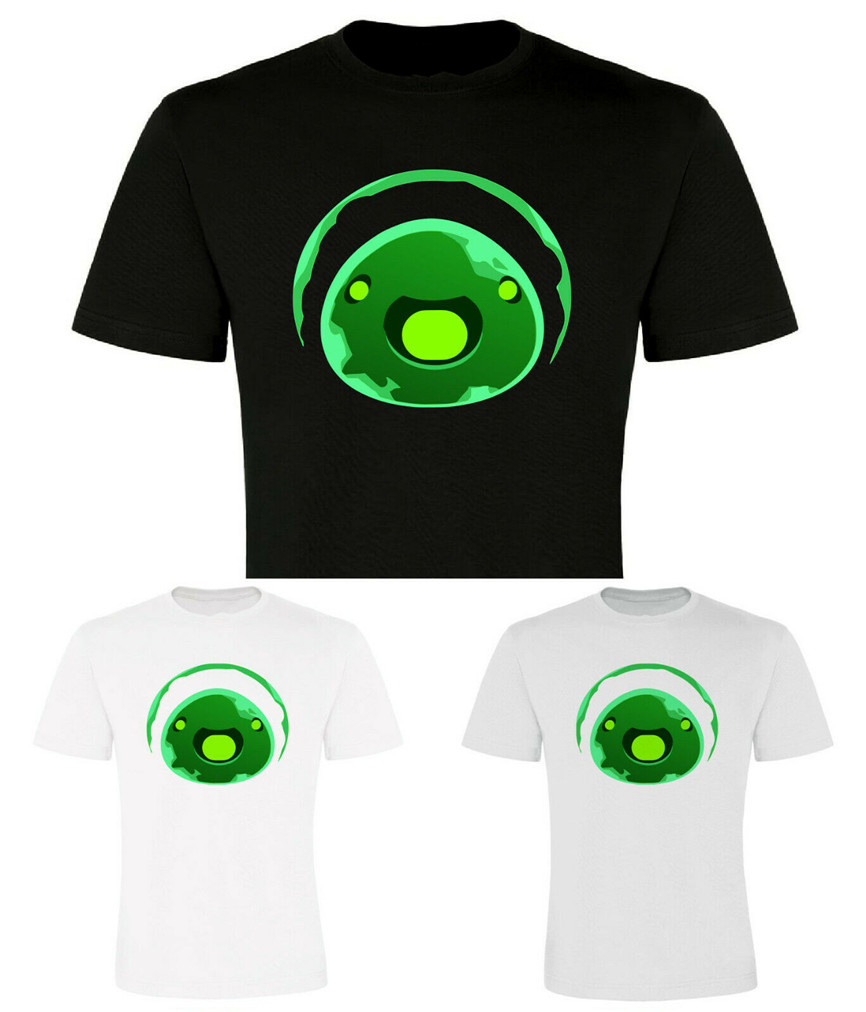 Rad <font><b>Slime</b></font>, Radiation, <font><b>Slime</b></font> <font><b>Rancher</b></font>, Steam, Kids Sizes Summer Tee <font><b>Shirt</b></font> image