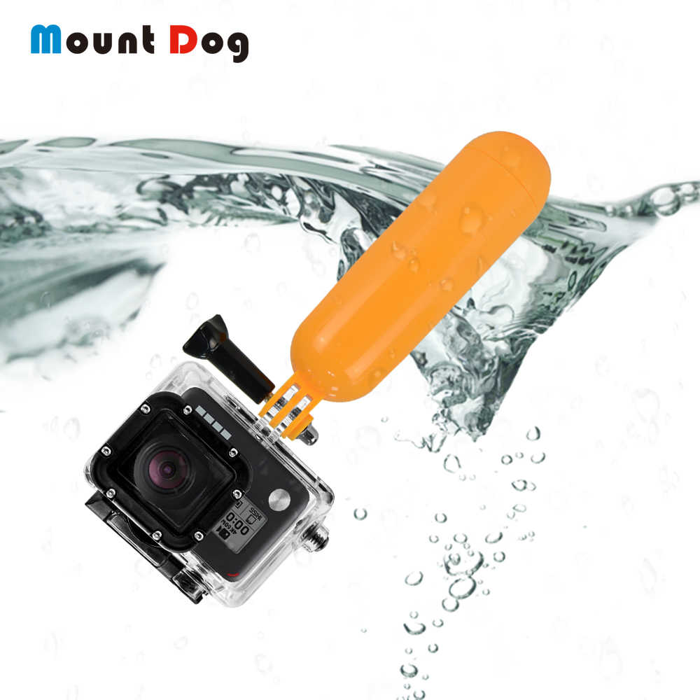 For Gopro Accessories Bobber Floating Floaty Handheld Stick tripod Action Camera accessories For Go Pro Hero 7 6 5 4 for Yi 4K