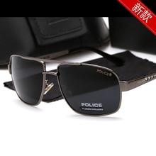 POLICE Polarized Sunglasses Men Classic Brand 2019 Sun Glasses Coating Lens Driv