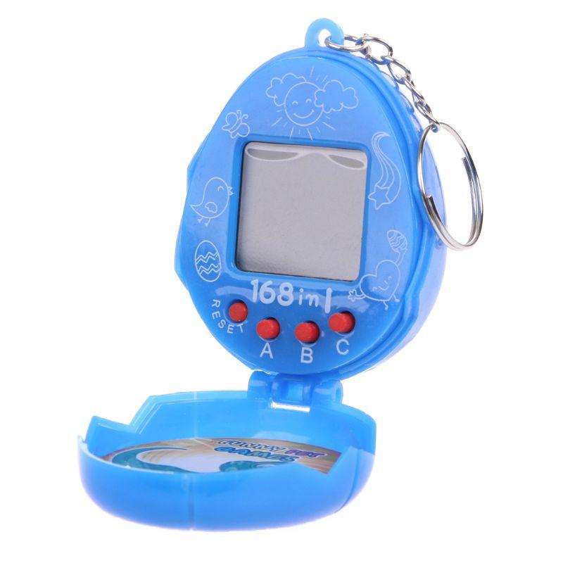 Virtual Cyber Pet Network Digital Retro Toy With Keychain 90s Nostalgic Machine 72XC