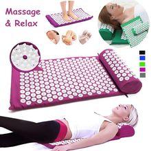 Massage Cushion Yantra Lotus Spike Shakti Mat Mata Do Akupresury Acupressure Accupunctuur Mat Spijkermat Yoga Akupunktur Matte