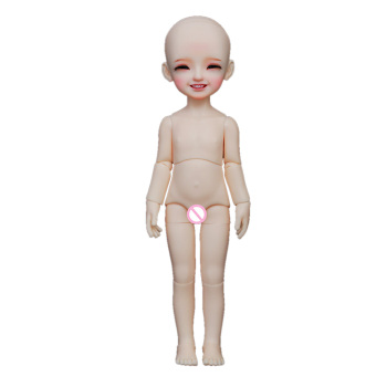 MODIKER 1/6 Ball Joint Dolls Naked Pink Skin Doll Toy with Makeup and Blue Eyes BJD Dolls Dolls & Accessories 2020 doll bjd eyes craft resin eyeball safety animal toy eyeball 14mm bjd accessories doll toys accessories dolls eyes
