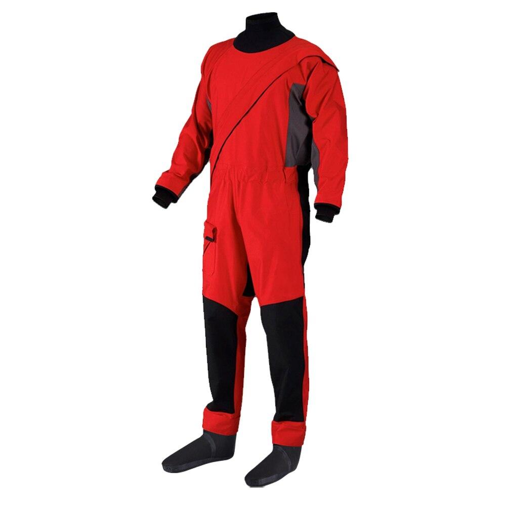 Hommes vêtements imperméables costume sec imperméable respirant combinaison une pièce combinaison étanche pour Kayking voile pêche bateau ATV boue Sport
