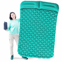 Inflatable Mattress Tent Cushion Air Camping Mats Outdoor 2 person Picnic Beach Mat baby Pad Home Rest Soft Moistureproof Camping Mat     -
