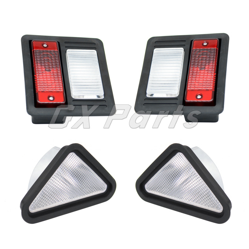 6718043 6718042 Exterior Head Tail Light Kit For Bobcat Loader S130 S160 S220 S300 S330 S450 S510 S590 S650 S770 S750 S850