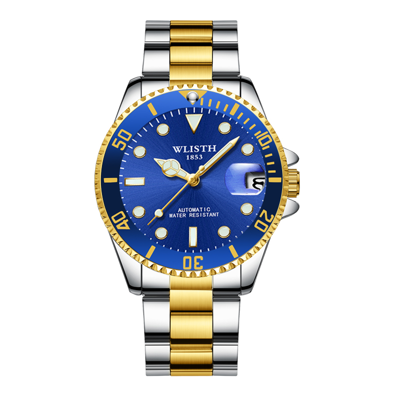 2020 Mens Watches Top Brand Luxury Watch Rolexable Quartz Wristwatches For Men Stainless Steel Waterproof Date Male Sports Clock