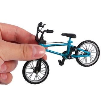 Mały rozmiar podstrunnica zabawki rowerowe z liną hamulcową niebieski symulacja Alloy Finger Bmx Bike dzieci prezent edukacyjny tanie i dobre opinie Metal CN (pochodzenie) Miniaturowe rowery na palce 5-7 lat 8-11 lat 12-15 lat STARSZE DZIECI Finger Bike Toy not near the fire