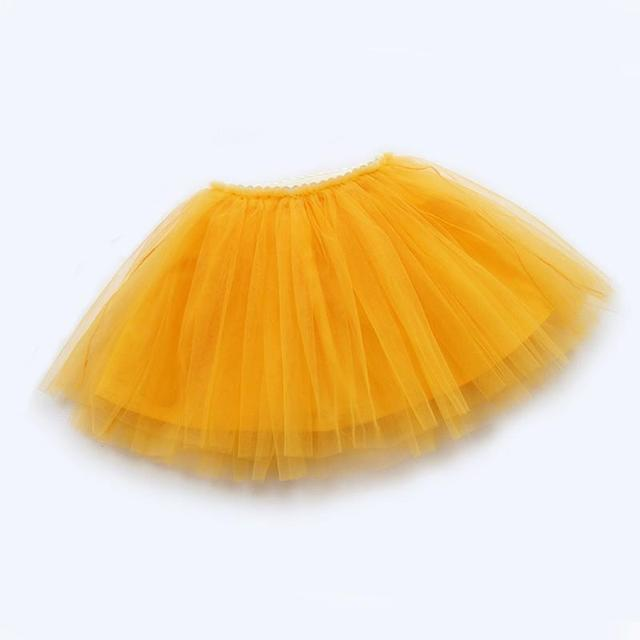 girls skirts princess lovely tutu skirts for 1-12Years kids spring summer clothes 21 color short girls lace skirt dance clothes 6