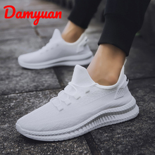 Damyuan New Light Weight Running Shoes For Men Spring Autumn Black Comfortable Anti Slip Male Shoes Outdoor Walking Sneakers Men autumn spring children shoes brand outdoor trainner male sneakers anti skid wear running shoes breathable for men comfortable