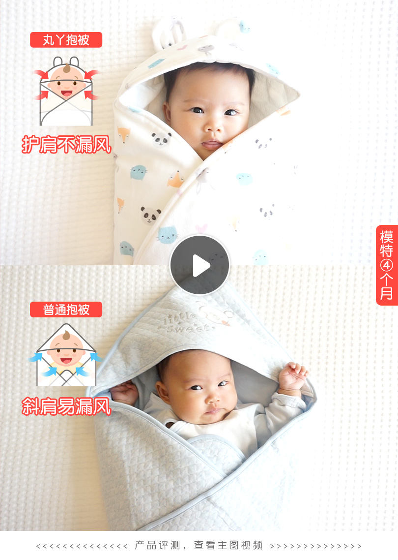 Baby Hold Autumn And Winter Thick Cotton Spring And Autumn Newborn Baby Supplies Anti-shock Sleeping Bag  2pcs One Set