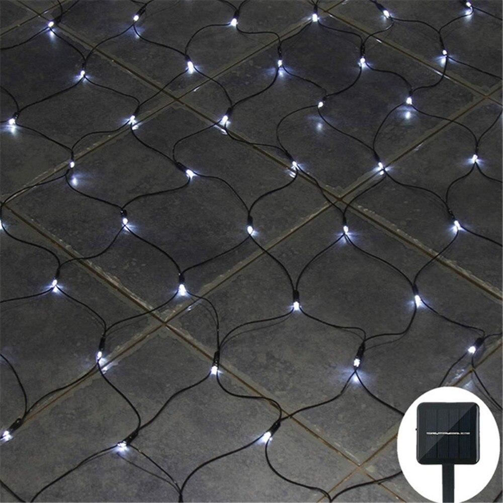 Solar powered Led Net Luz Da Corda