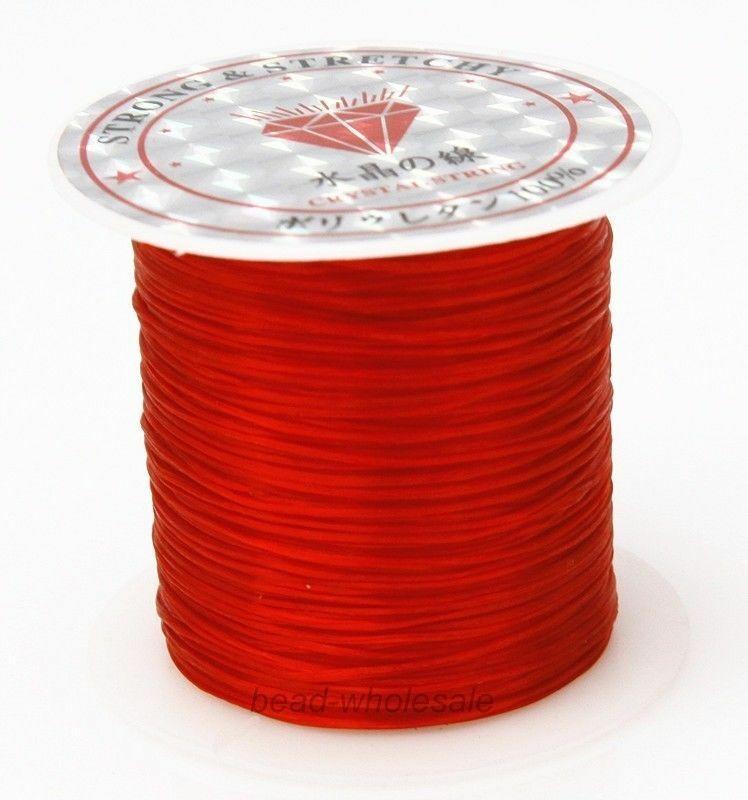 393 дюйма/рулон, крепкий эластичный шнур для бисероплетения с кристаллами, 1 мм, для браслетов, стрейчевая нить, ожерелье, сделай сам, для изготовления ювелирных изделий, шнуры, линия - Цвет: Color 13
