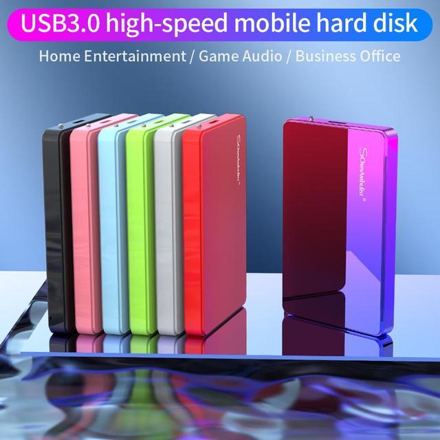 External Hard Drive 2TB 1TB HD Externo USB HDD Storage Device Hard Drive Desktop Notebook Computer d 2