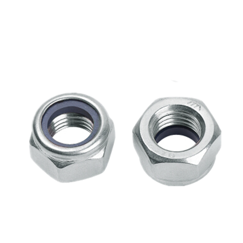 STAINLESS STEEL NYLOC LOCK NUTS HEXAGON GRADE A2 HEX 304 NYLON INSERT M2 M24