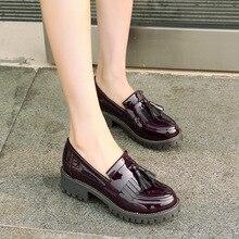 Aardimi oxfords sapatos femininos tenis feminino couro de patente sapatos femininos sapatos plataforma senhoras deslizamento em sapatos zapatos mujer