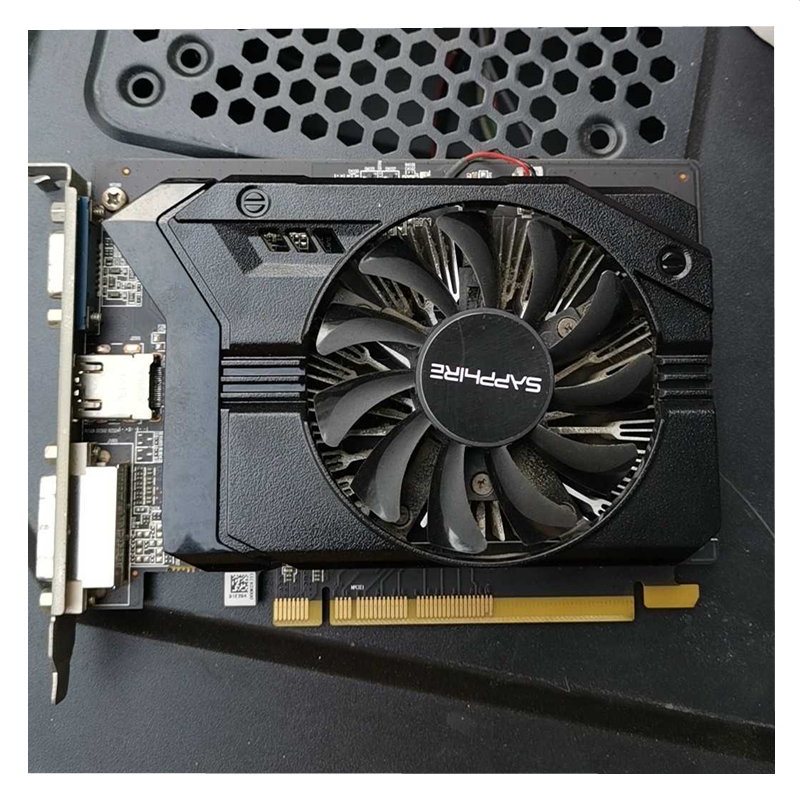Видеокарта SAPPHIRE R7 240 1 Гб, графический процессор Radeon R7240 1 Гб, видеоэкран, компьютерная игра для AMD, видеокарта HDMI PCI-E-4