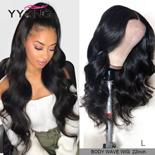 Yyong Hair 360 Lace Frontal Wig Pre Plucked With Baby Hair Remy 360 Lace Frontal Human Hair Wig Peruvian Body Wave Lace Wigs