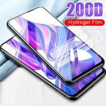 Мягкая Гидрогелевая пленка, полное покрытие для Huawei Nova 3 3i Y5 Y6 Prime Y9 2018 на Honor 7A Pro 7C P Smart, защита экрана HD, не стекло