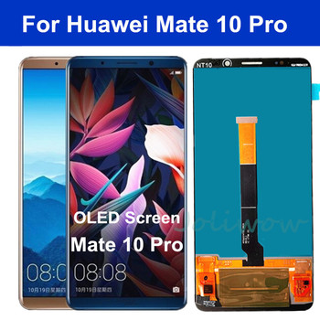 "6.0"" OLED For Huawei Mate 10 Pro LCD Display BLA-L09 BLA-L29 BLA-AL00 Touch Screen Assembly for Huawei Mate10 Pro LCD Screen"