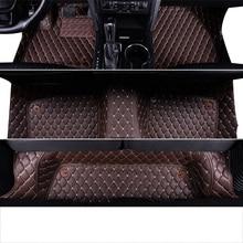 Lsrtw2017 роскошный кожаный автомобильный салон автомобиля коврик для ford explorer 5 2011 2012 2013 5 ковер