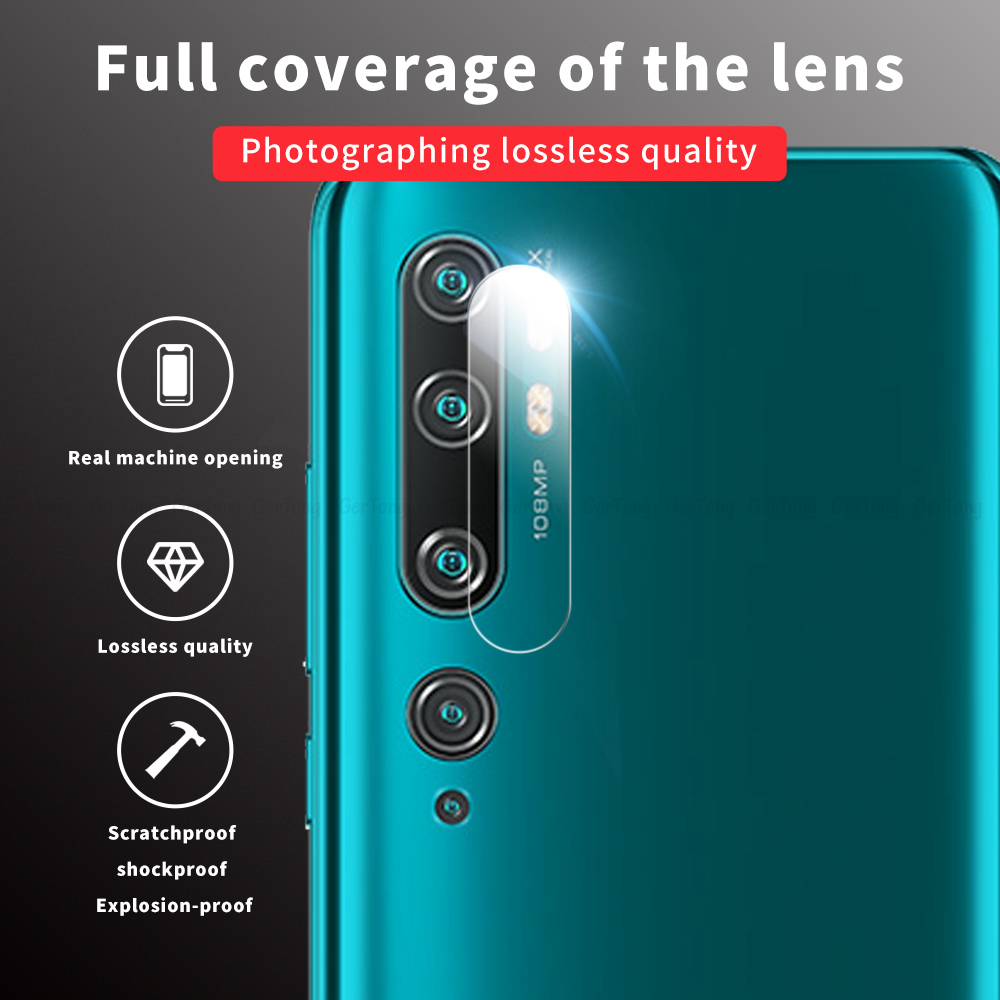 9D Back <font><b>Camera</b></font> Lens Tempered Glass For <font><b>Xiaomi</b></font> mi Note 10 9 pro 5G Mi A3 Lite 9t CC9 CC9E <font><b>mi9</b></font> se Screen <font><b>Protector</b></font> Protective Film image