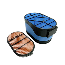 Brand New Air Filter P608667 P607557 Element For NEW HOLLAND W270C Wheel Loader Excavator