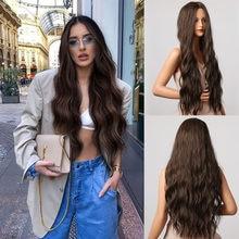 Женский парик для косплея Генри маргу, парики из натуральных волнистых волос для повседневной вечеринки