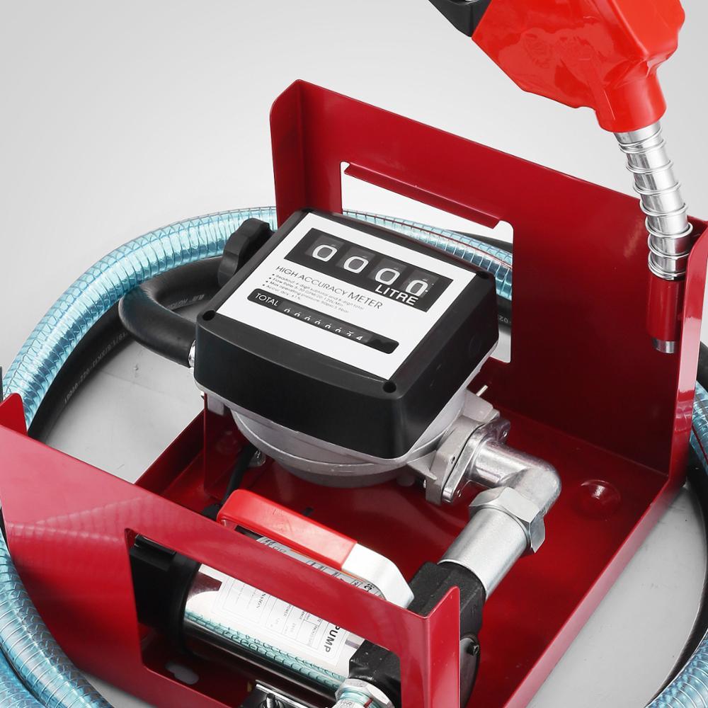 H/D Self Priming Electric Oil Pump Transfer Bio Fuel Oil Diesel 230v 40L/Min New - 5