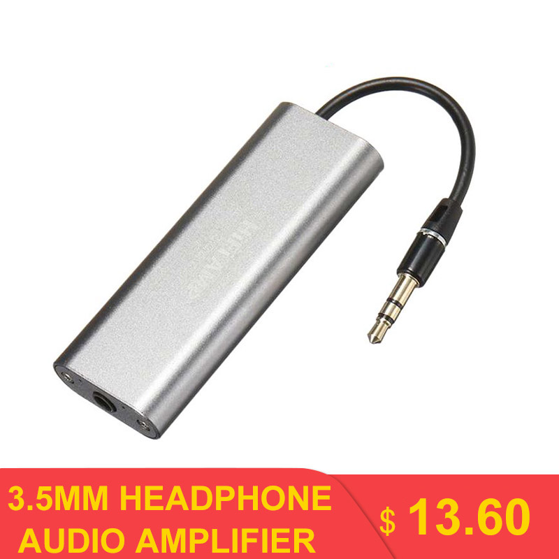 LEORY SD05 Professional Portable <font><b>Mini</b></font> 3.5mm Headphone Audio Amplifier for Mobile Phones image