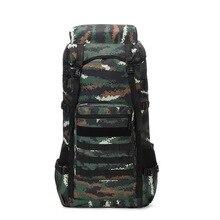 Multi-Function Camouflage Mountaineering Bag Men's Large Capacity 70-Liter Waterproof Luggage Backpack Outdoor Travel Backpack