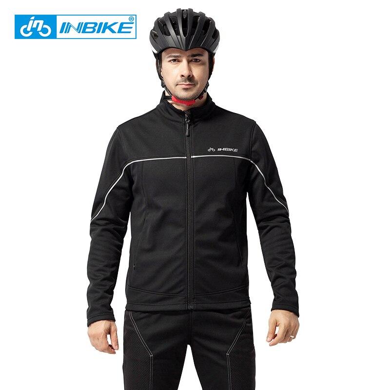 INBIKE hiver thermique cyclisme veste équitation costumes plein air Sport vêtements pantalon voyage escalade randonnée chaud manches longues vélo costume - 3