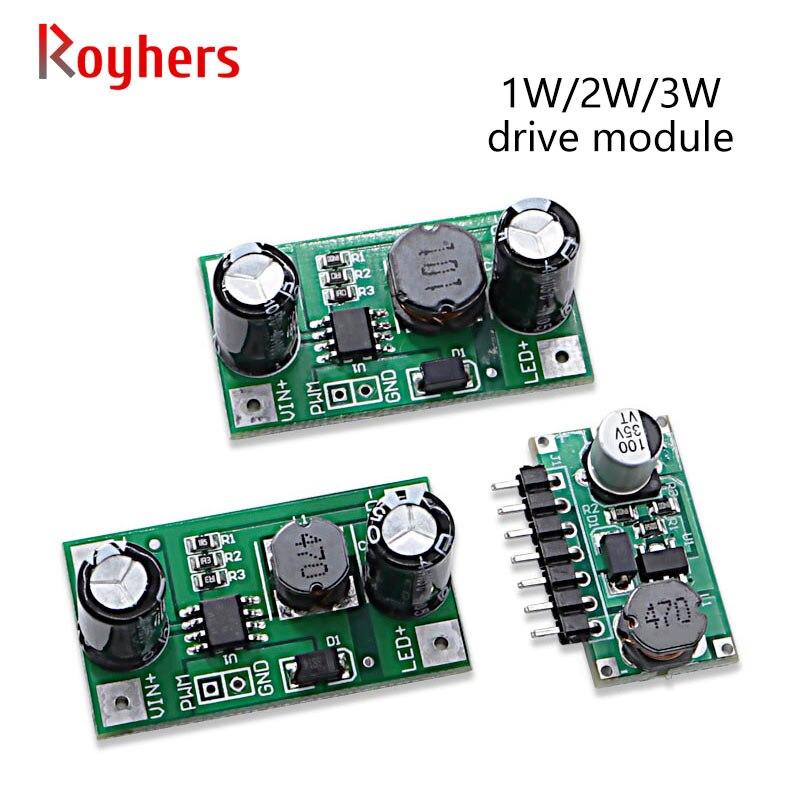 1 pces 3w 5v-35v led driver 700ma DC-DC pwm módulo escurecimento entrada step-down constante atual componentes eletrônicos diy pcb 1w